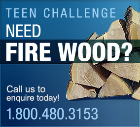 Teen Challenge Ontario North Men's Centre Firewood Program